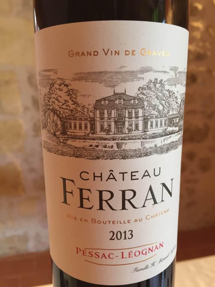 Château Ferran 2013 – Pessac-Léognan
