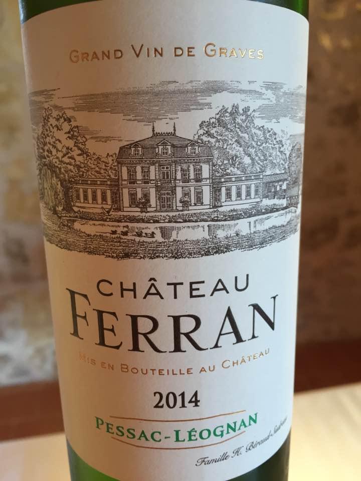 Château Ferran 2014 – Pessac-Léognan