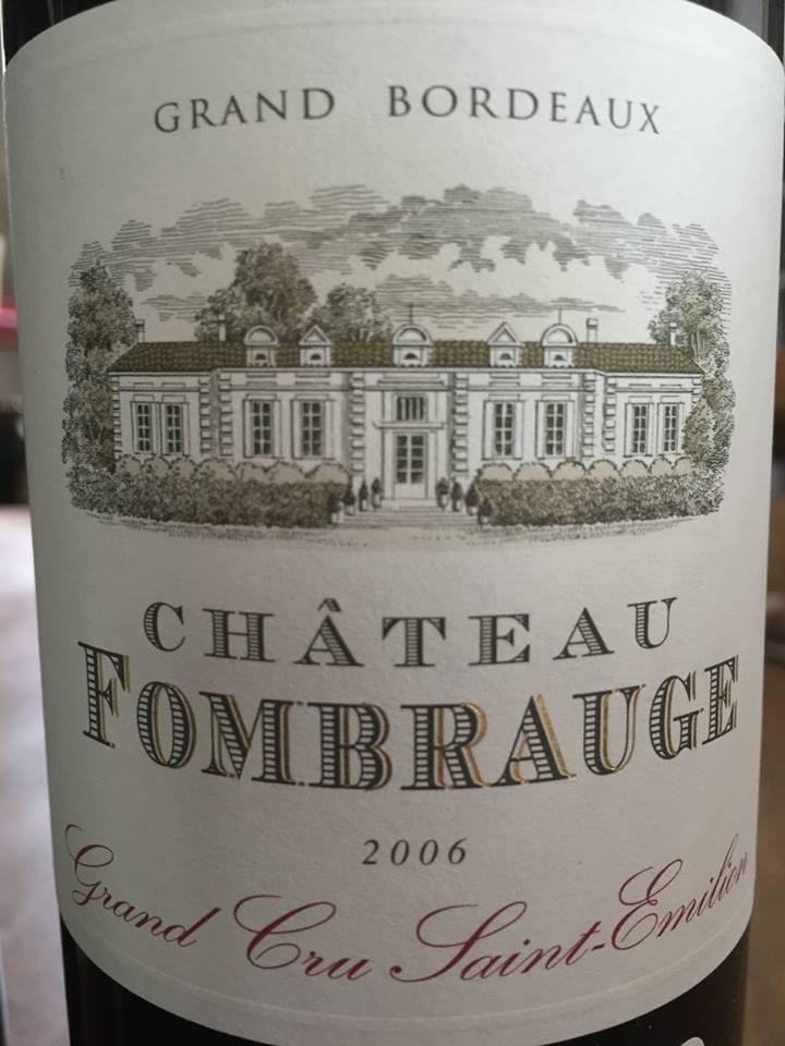 Château Fombrauge 2006 – Saint-Emilion Grand Cru