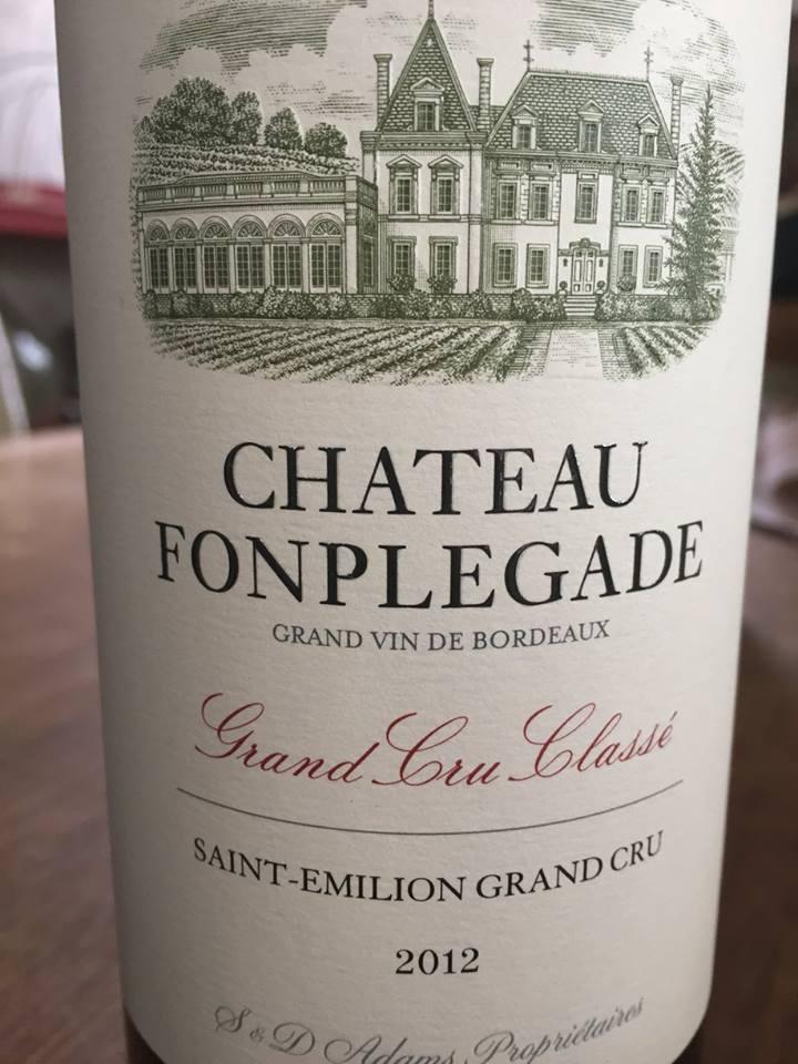 Château Fonplegade 2012 – Saint-Emilion Grand Cru Classé
