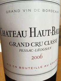 Château Haut-Bailly 2006 – Pessac-Léognan, Grand Cru Classé de Graves