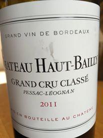 Château Haut-Bailly 2011 – Pessac-Léognan, Grand Cru Classé de Graves