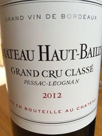 Château Haut-Bailly 2012 – Pessac-Léognan, Grand Cru Classé de Graves