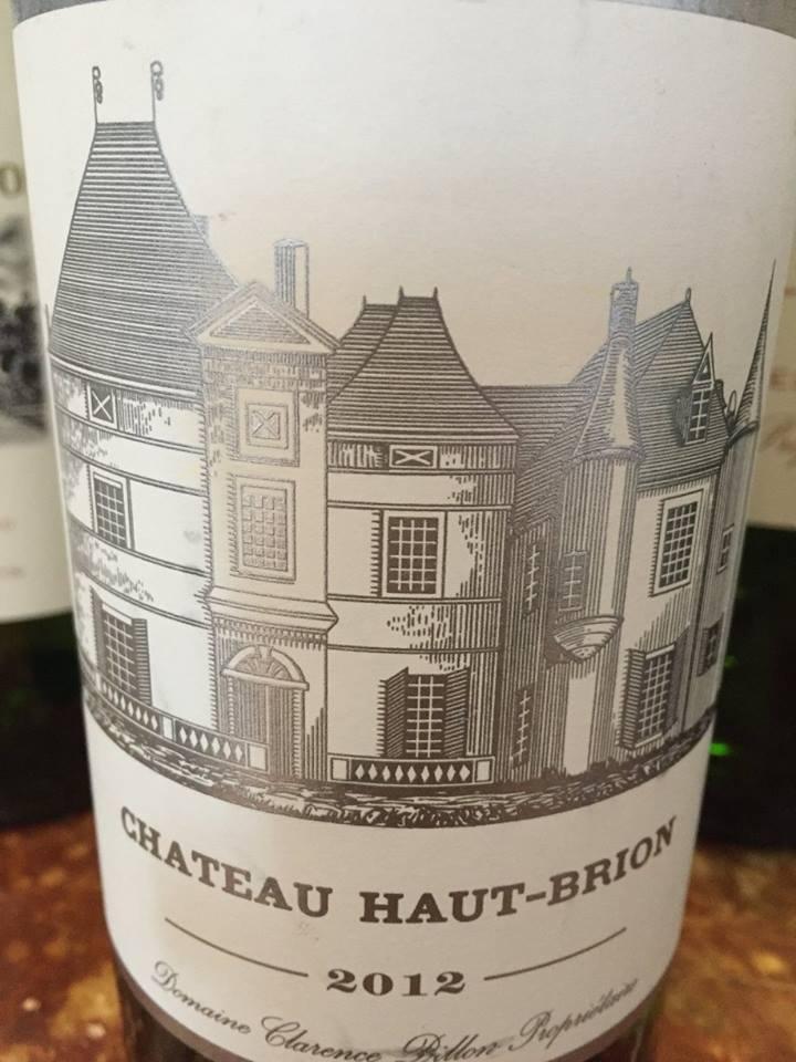 Château Haut-Brion 2012 – Pessac-Léognan