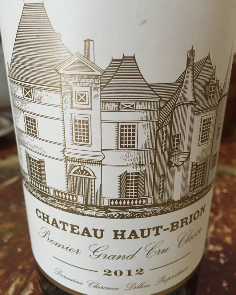 Château Haut-Brion 2012 – Pessac-Léognan, Grand Cru Classé de Graves
