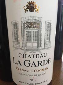 Château La Garde 2012 – Pessac-Léognan