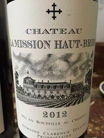 Château La Mission Haut-Brion 2012 – Pessac-Léognan, Grand Cru Classé de Graves