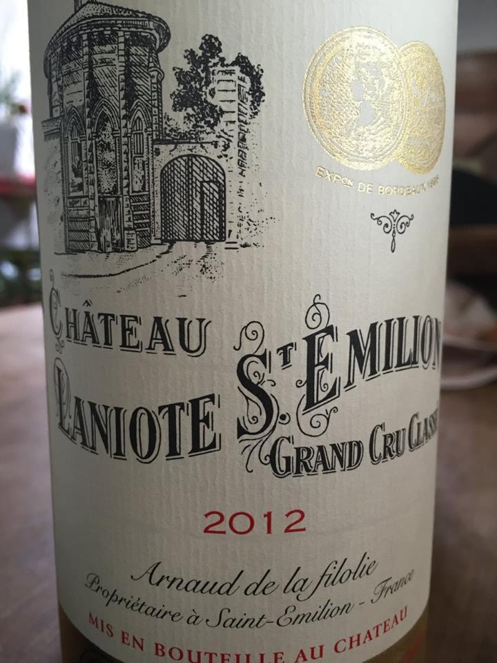Château Laniote 2012 – Saint-Emilion Grand Cru Classé