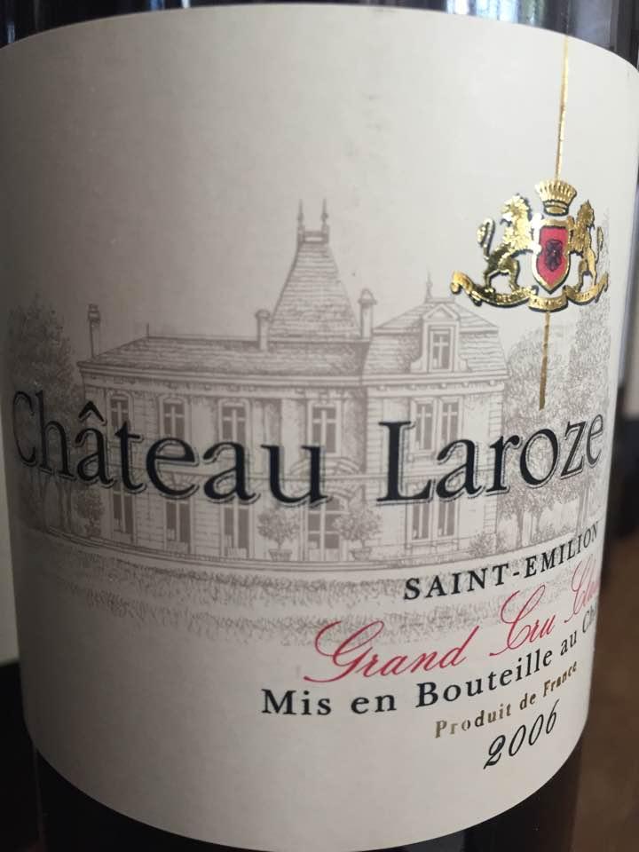 Château Laroze 2006 – Saint-Emilion Grand Cru Classé