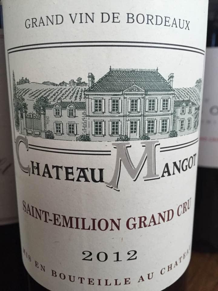 Château Mangot 2012 – Saint-Emilion Grand Cru