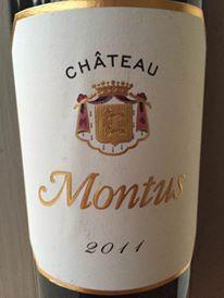 Château Montus 2011 – Madiran