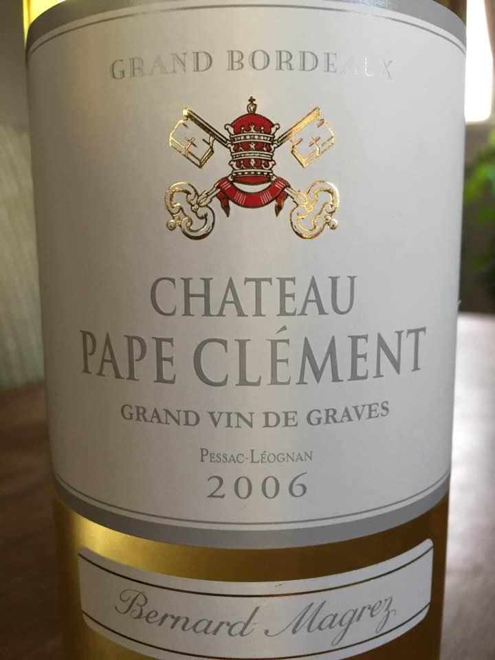 Château Pape Clément 2006 – Pessac-Léognan