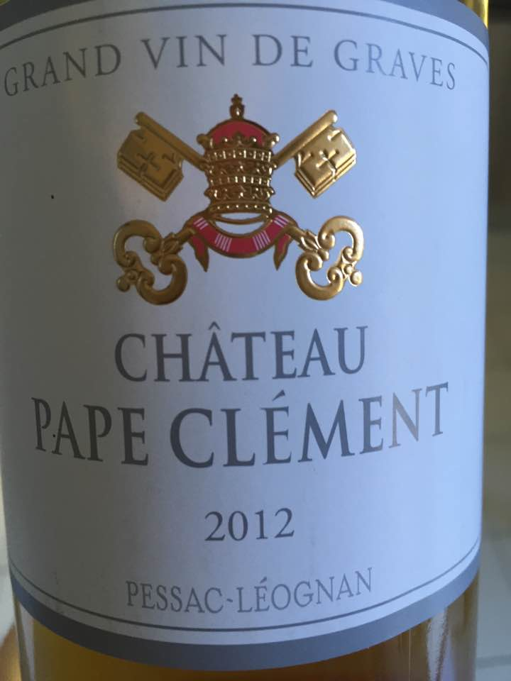 Château Pape Clément 2012 – Pessac-Léognan