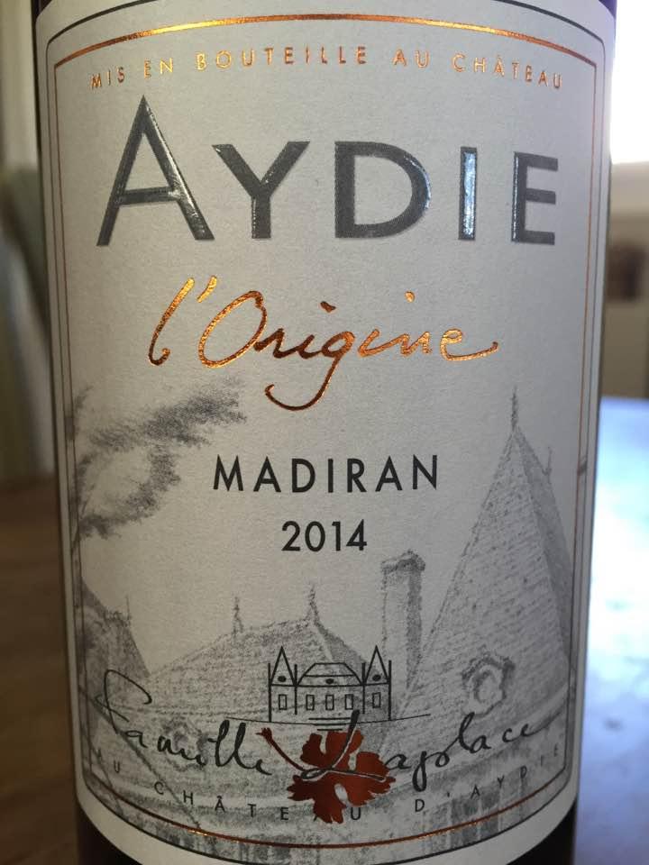 Château d'Aydie – L'Origine 2014 – Madiran