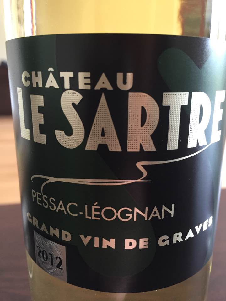 Château le Sartre 2012 – Pessac-Léognan
