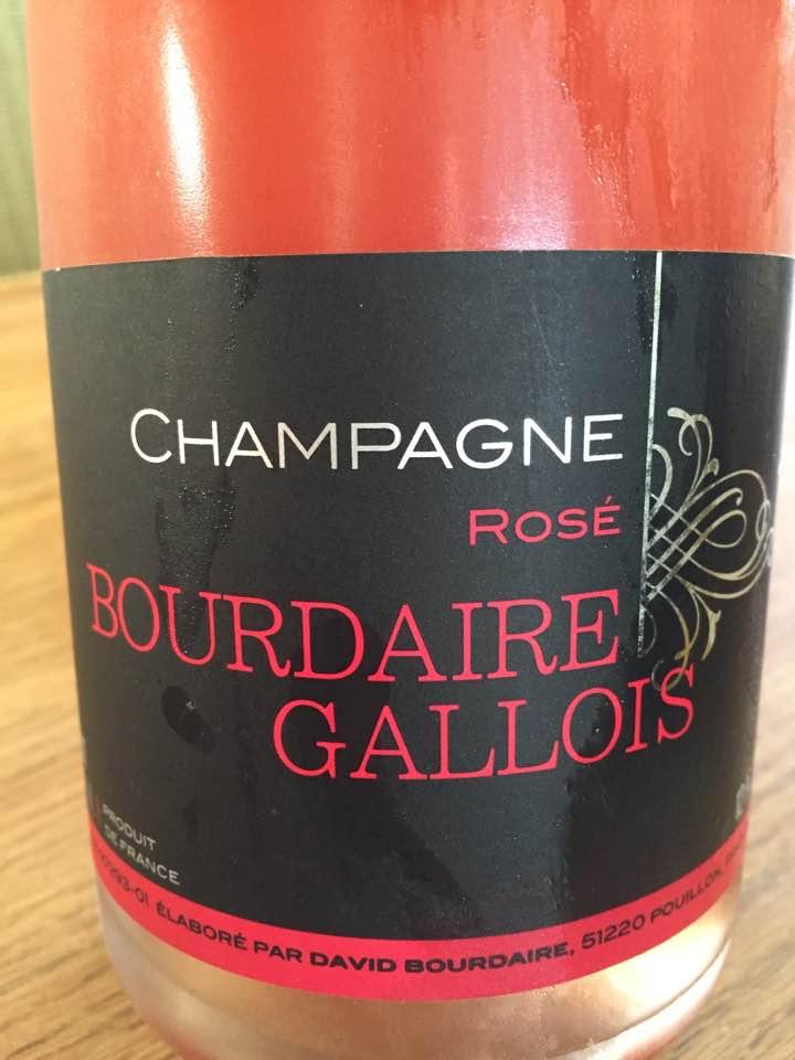 Champagne Bourdaire Gallois – Rosé – Brut