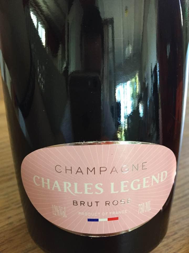 Champagne Charles Legend – Brut rosé