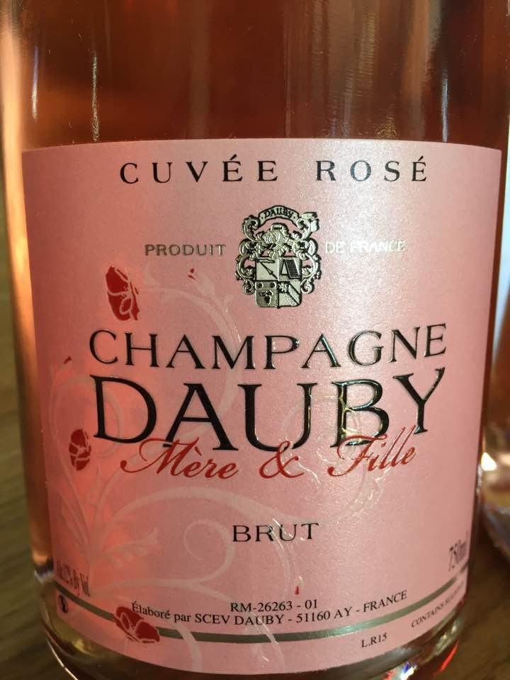 Champagne Dauby Mère & Fille – Cuvée Rosé – Brut