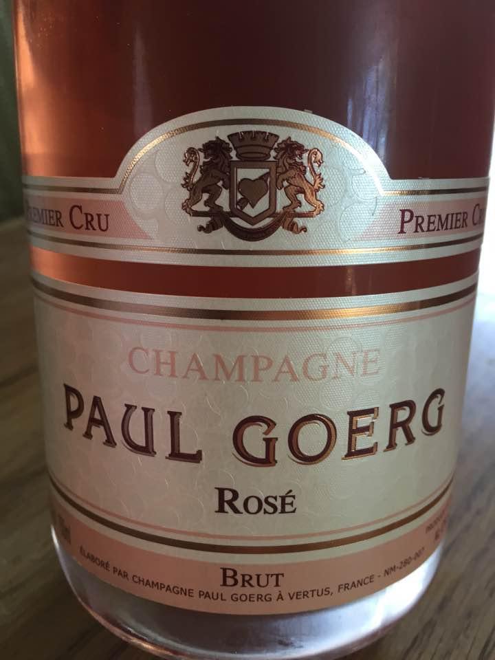 Champagne Paul Goerg – Rosé – Brut – 1er Cru