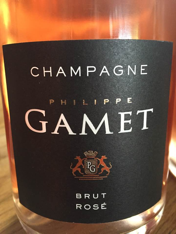 Champagne Philippe Gamet – Rosé – Brut