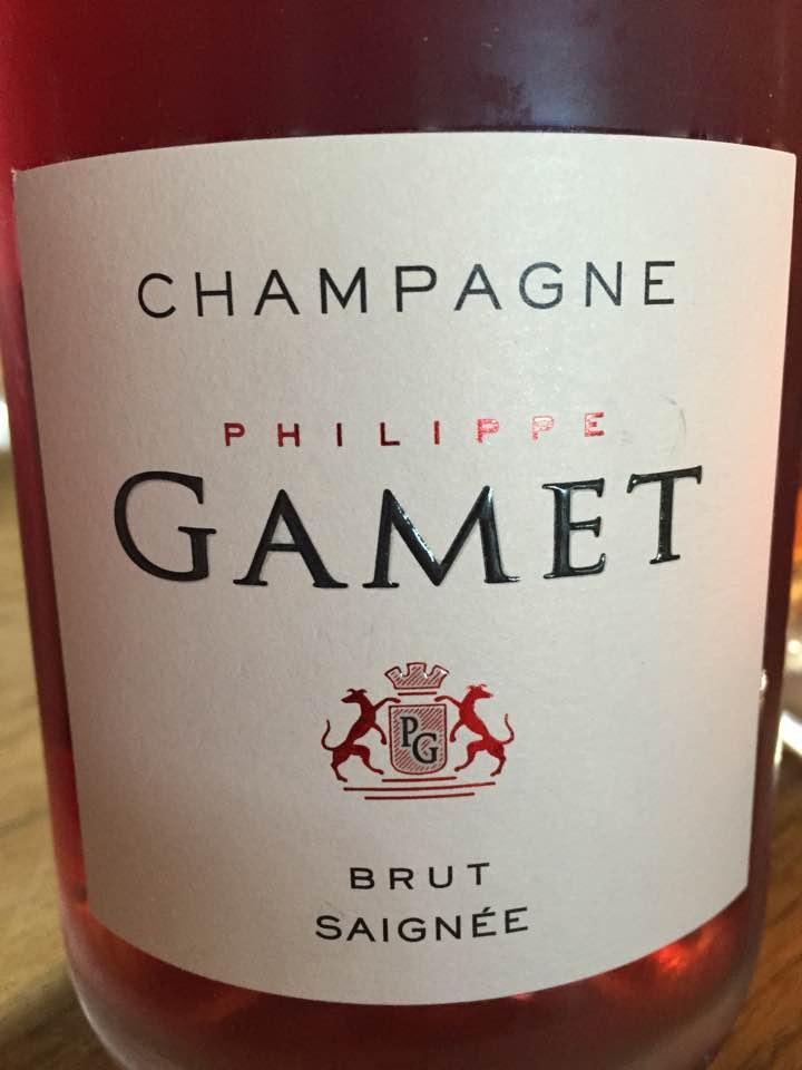 Champagne Philippe Gamet – Saignée – Brut
