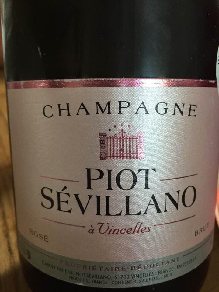 Champagne Piot Sévillano – Rosé – Brut