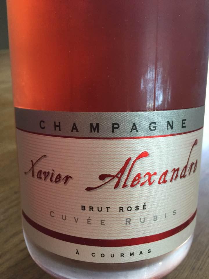 Champagne Xavier Alexandre – Cuvée Rubis – Brut Rosé – 1er Cru