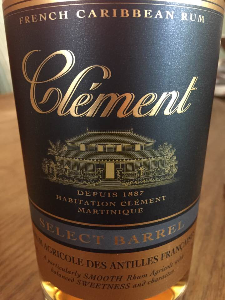 Clément – Select Barrel – Rhum Agricole des Antilles Françaises
