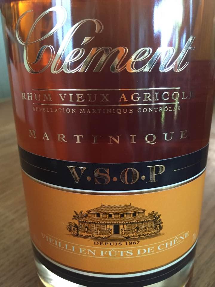 Clément – VSOP – Rhum Vieux Agricole – Vieilli en Fûts de Chêne – Martinique
