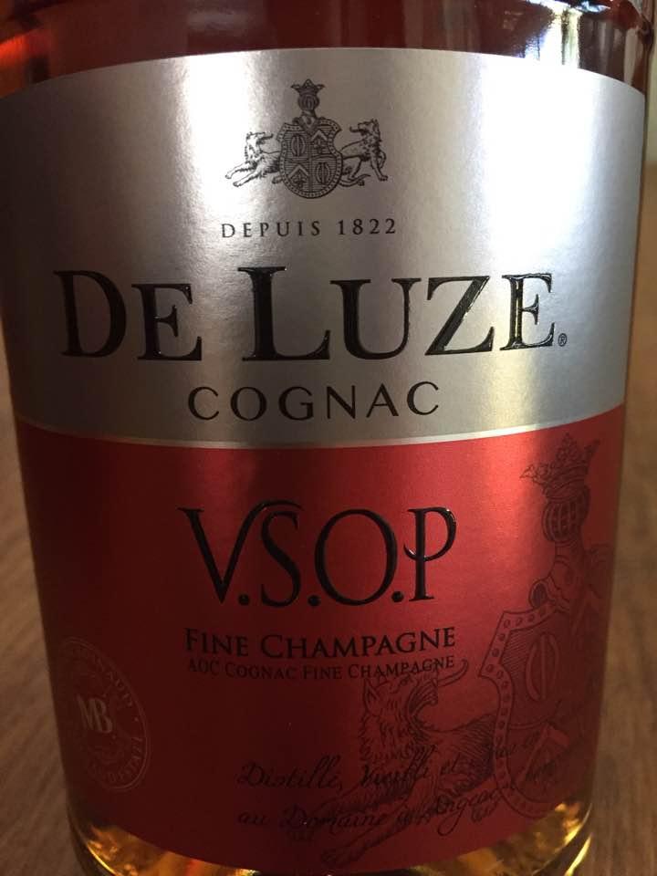 De Luze – Fine Champagne – V.S.O.P – Cognac