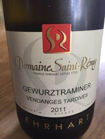 Domaine Saint-Rémy – Gewurztraminer 2011 Vendanges Tardives – Alsace