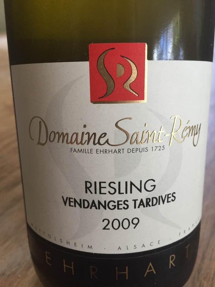 Domaine Saint-Rémy – Riesling 2009 Vendanges Tardives – Alsace