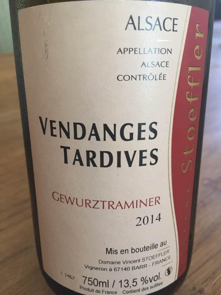 Domaine Stoeffler – Gewurztraminer 2014 Vendanges Tardives – Alsace