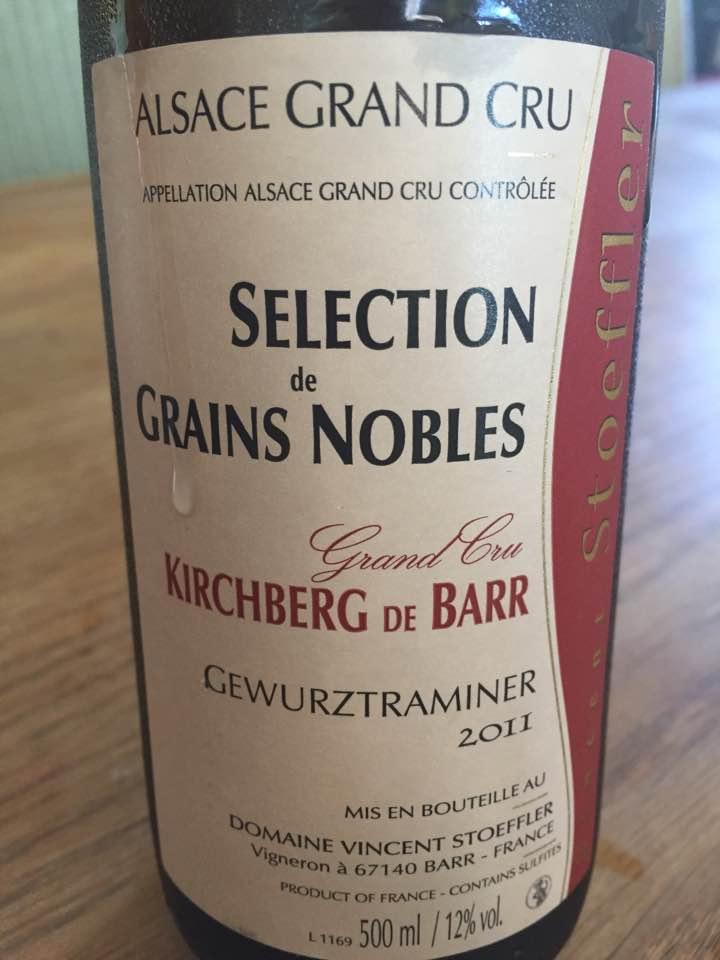 Domaine Stoeffler – Selection de Grains Nobles – Gewurztraminer 2011 – Grand Cru Kirchberg de Barr
