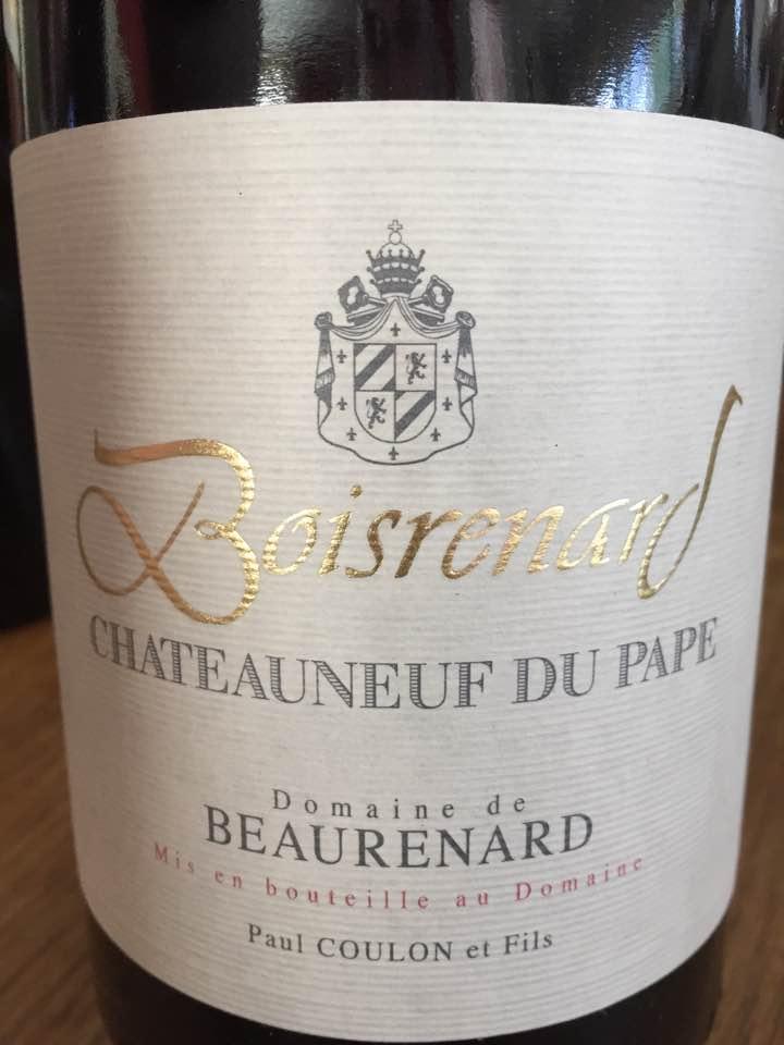 Domaine de Beaurenard – Boisrenard 2006 – Châteauneuf-du-Pape