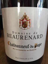 Domaine de Beaurenard 2014 – Châteauneuf-du-Pape (rouge)