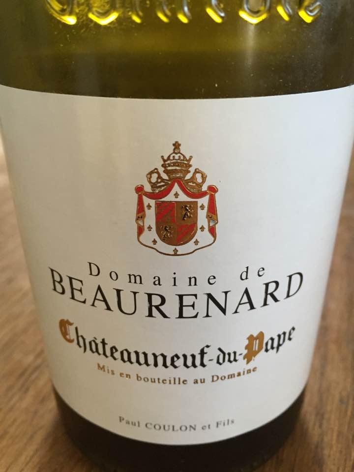 Domaine de Beaurenard 2015 – Chateauneuf-du-Pape (white)