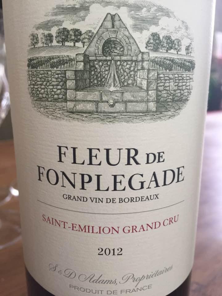 Fleur De Fonplegade 2012 – Saint-Emilion Grand Cru