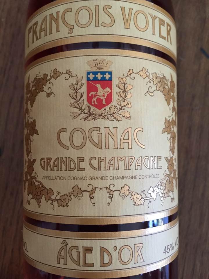 François Voyer – Age D'Or – Grande Champagne – Cognac