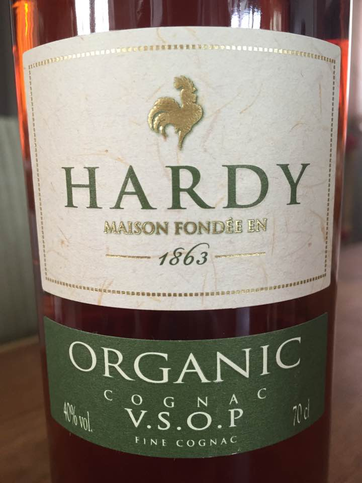 Hardy – Organic – Cognac VSOP – Fine Cognac