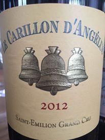 Le Carillon D'Angélus 2012 – Saint-Emilion Grand Cru