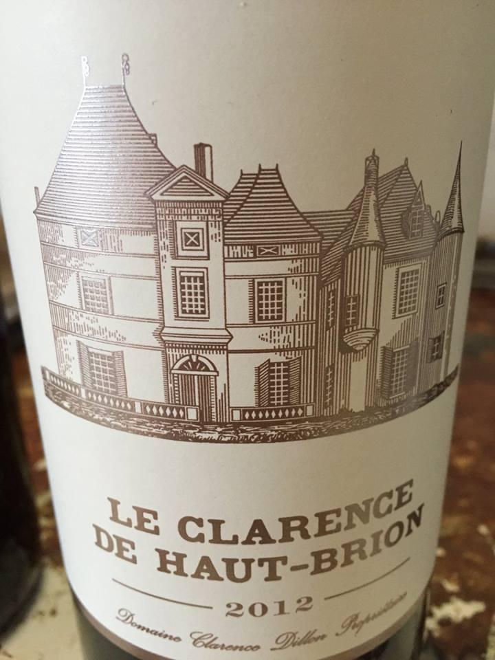 Le Clarence de Haut-Brion 2012 – Pessac-Léognan