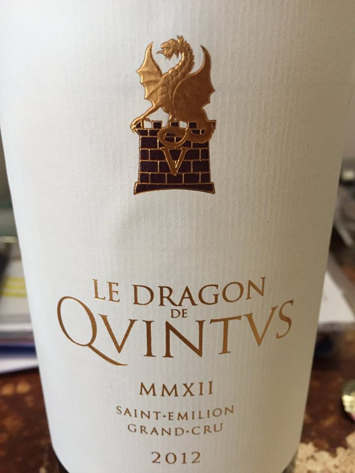 Le Dragon de Quintus 2012 – Saint-Emilion Grand Cru