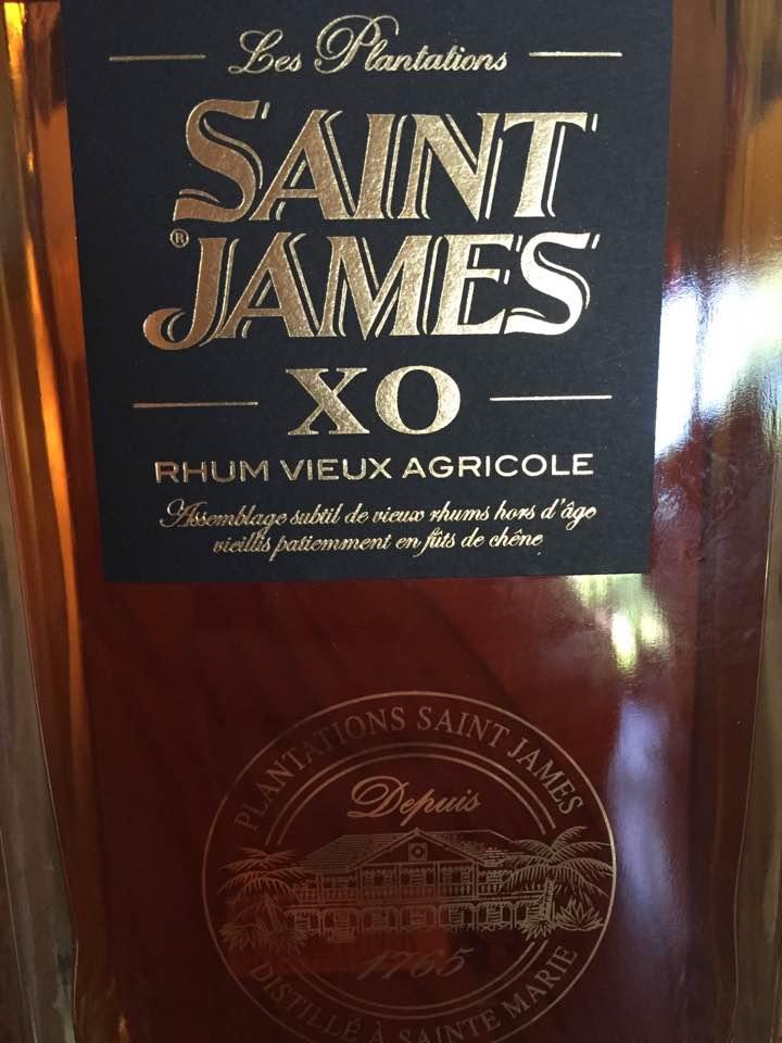 Les Plantations Saint-James – XO – Rhum Vieux Agricole – Martinique