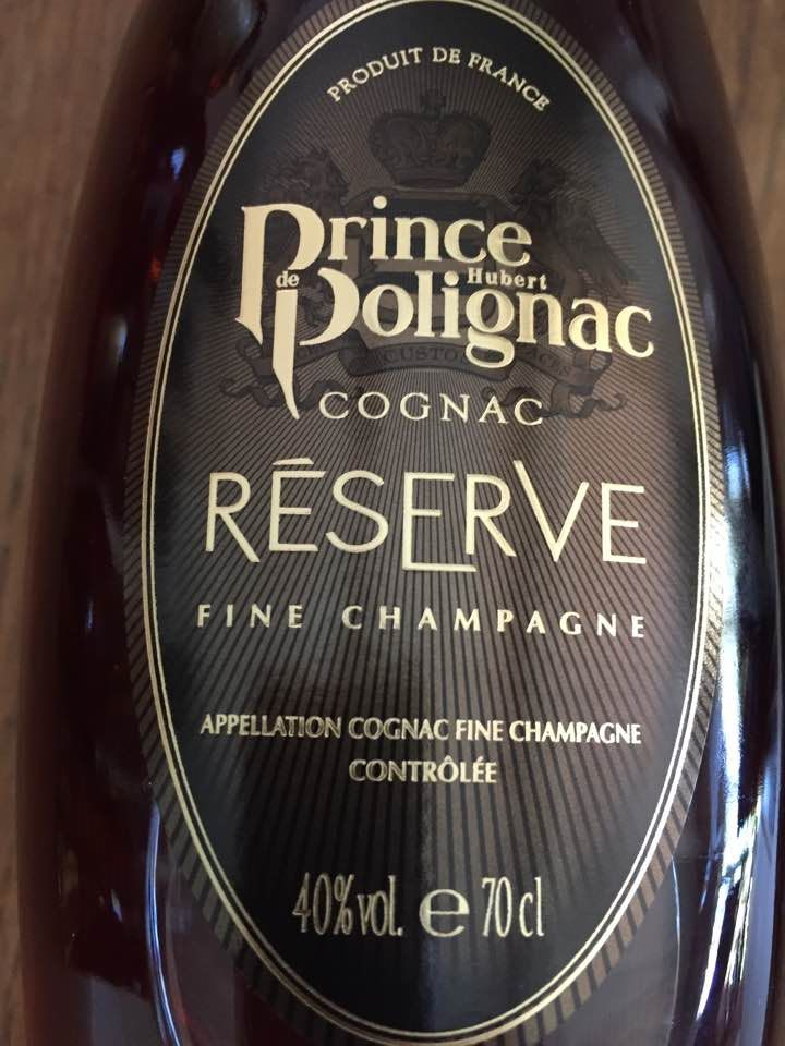 Prince Hubert de Polignac – Reserve – Fine Champagne – Cognac