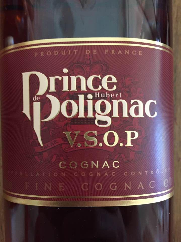 Prince Hubert de Polignac – VSOP – Fine Cognac – Cognac