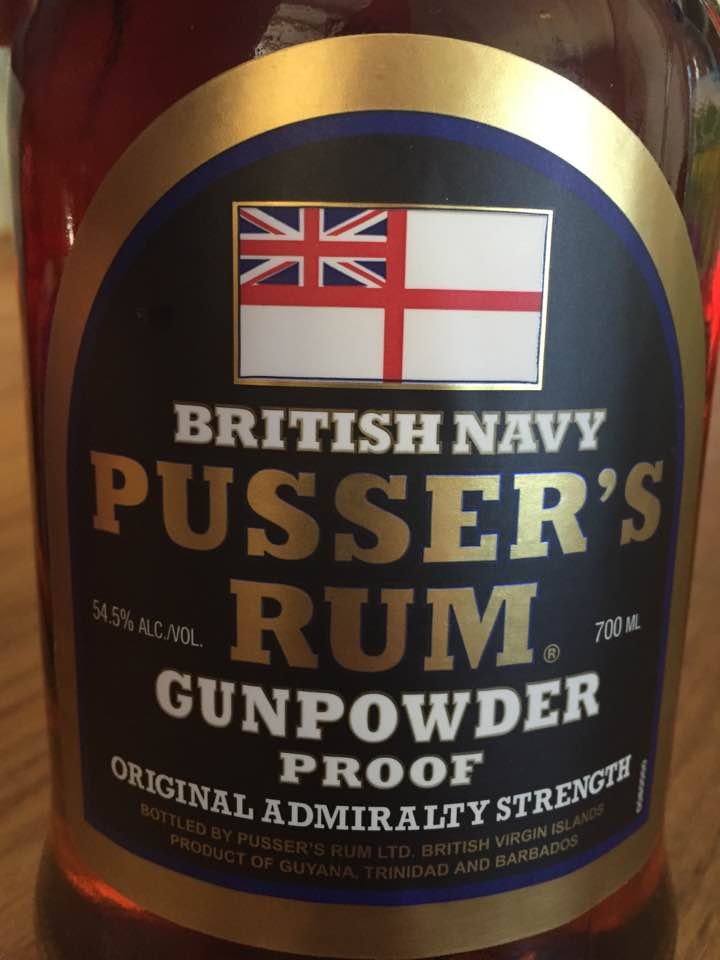 Pusser's Rum – Gunpowder Proof – Barbados