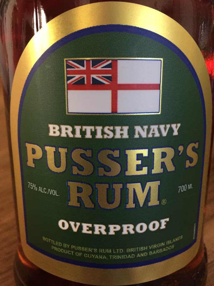 Pusser's Rum – Overproof – Barbados