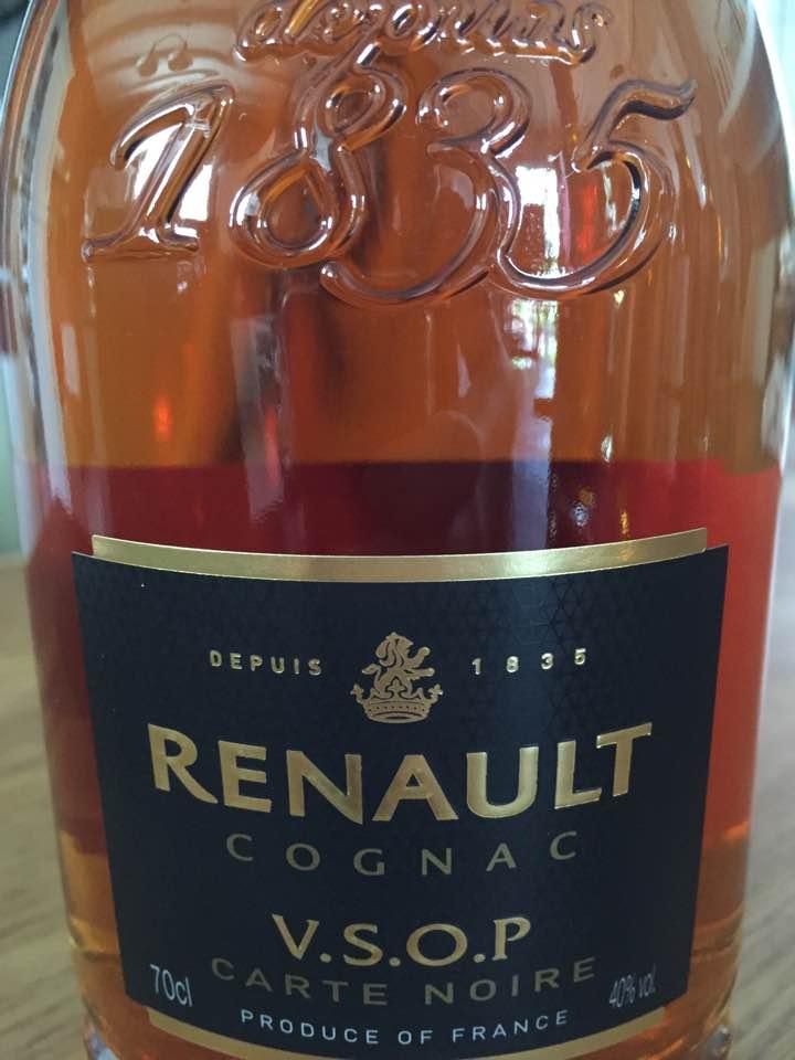 Renault – Carte Noire – V.S.O.P – Cognac