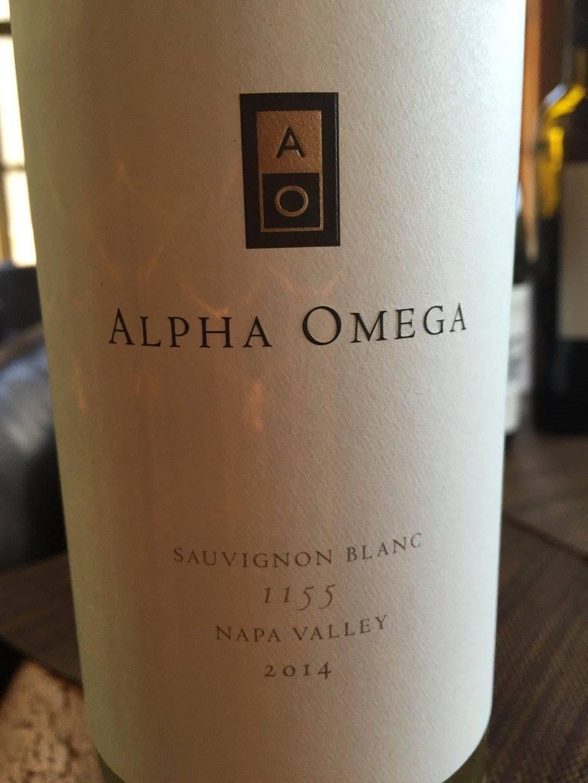 Alpha Omega – 1155 Sauvignon Blanc 2014 – Napa Valley